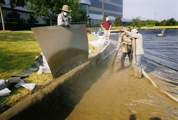 Lake Plastic Liners Dallas Fort Worth - Lake Management Floating Fountains Aeration Irrigation Pump Systems Dallas Fort Worth Texas