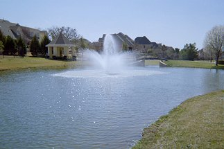 Floating Fountains Dallas Fort Worth - Lake Management Floating Fountains Aeration Irrigation Pump Systems Dallas Fort Worth Texas